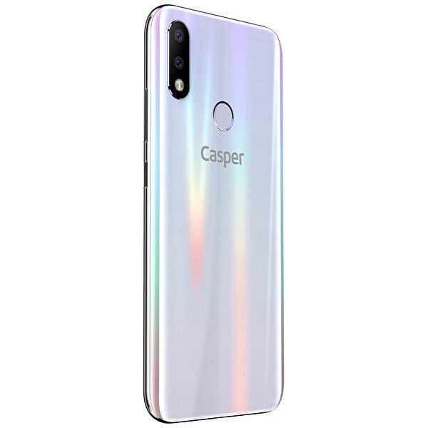Casper Via.S 64GB Beyaz Akıllı Telefon