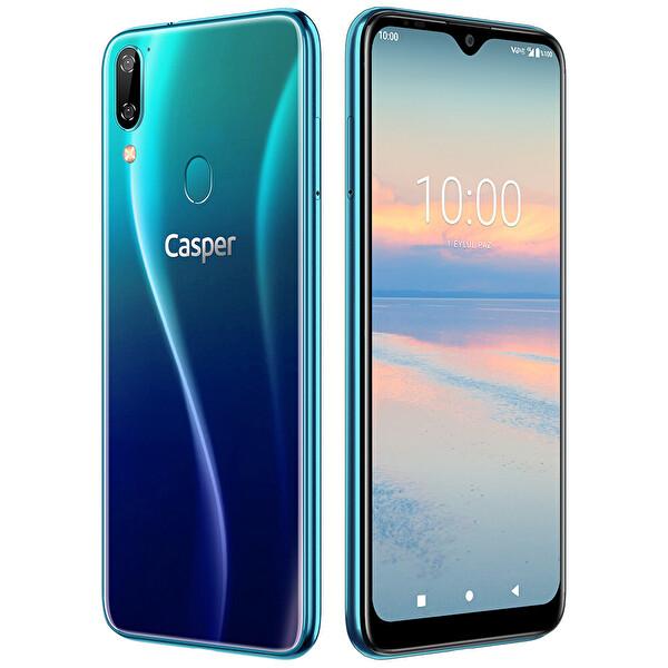 CASPER VIA.A4-M-128 ŞAFAK MAVİSİ SMARTPHONE 128GB ( OUTLET )