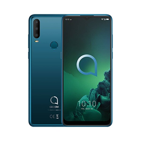 ALCATEL 3X 5048Y 4/64GB JEWELRY GREEN AKILLI TELEFON ( TESHIR )
