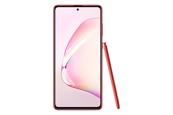 SAMSUNG GALAXY NOTE10 LITE RED AKILLI TELEFON ( OUTLET )