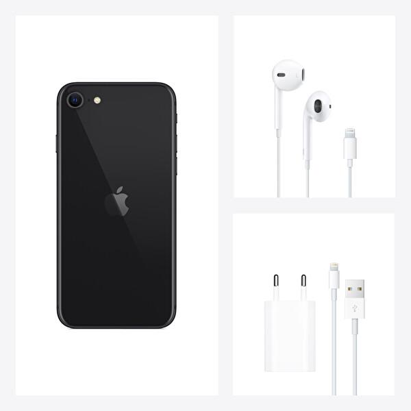 Apple iPhone SE 128GB Black Akıllı Telefon