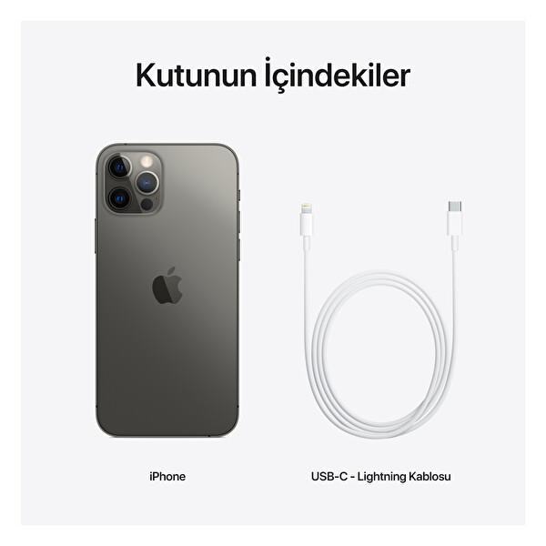 Apple iPhone 12 Pro 128GB Graphite Akıllı Telefon
