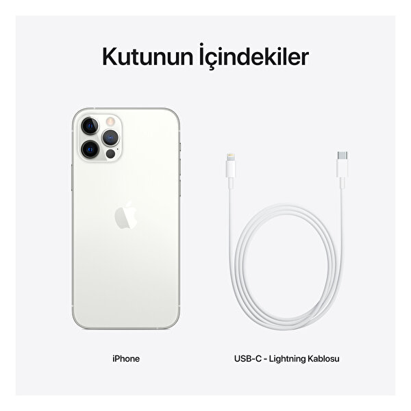 Apple iPhone 12 Pro 128GB Silver Akıllı Telefon