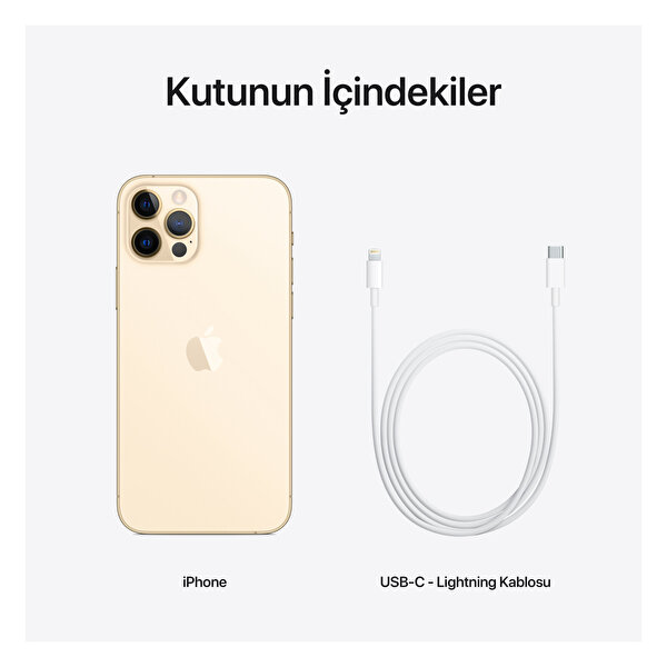 Apple iPhone 12 Pro 512GB Gold Akıllı Telefon