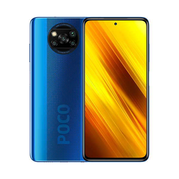 Xiaomi Pocox3  6GB/128 GB Mavi  Akıllı Telefon ( OUTLET )