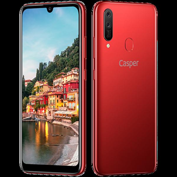 Casper Via E4 32GB Kırmızı Akıllı Telefon