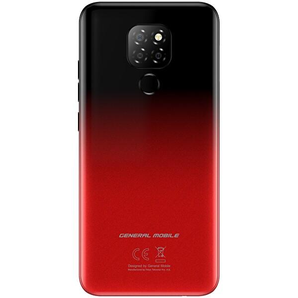 General Mobile GM 20 Single Gece Kırmızısı Akıllı Telefon
