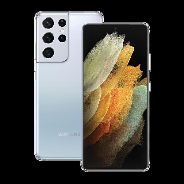 Samsung Galaxy S21 Ultra 5G 256GB Phantom Silver Akıllı Telefon