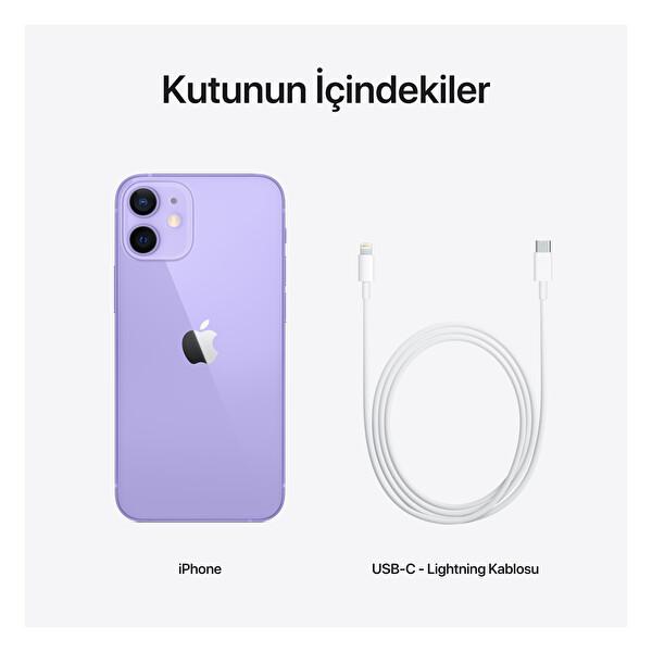 Apple iPhone 12 Mini 128GB Akıllı Telefon Mor