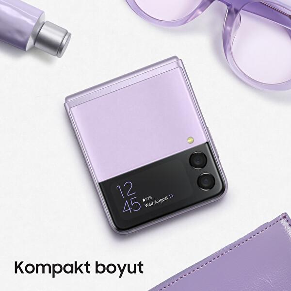 Samsung Galaxy Z Flip3 5G Akıllı Telefon Violet