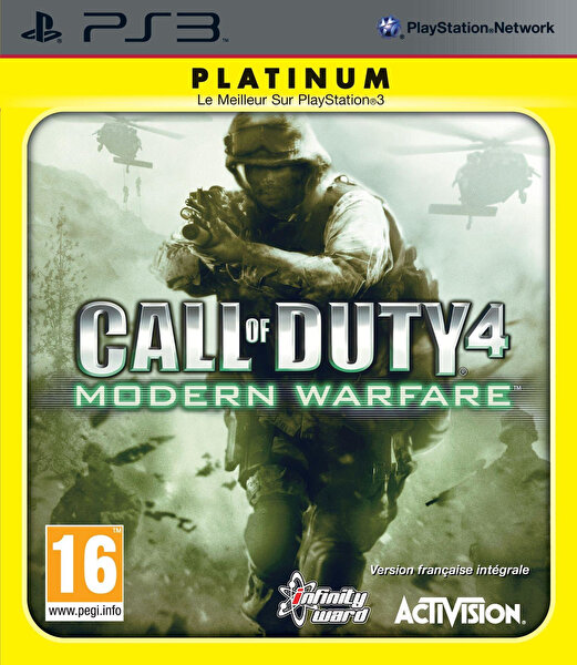 Aral Call Of Duty 4 PS3 Oyun