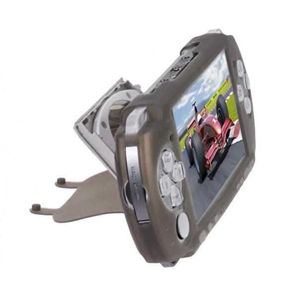 Logic Psp3000 Sılıcone Case+Screen Protector(Siyah/Black) Psp Aksesuar