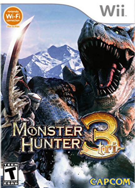 Nintendo WII Monster Hunter TRI WII Yazılım