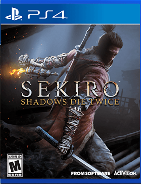 ARAL SEKIRO SHADOWS DIE TWICE PS4 OYUN