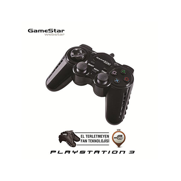 Gamestar GP 347 (Pc/Ps3) Dualshock Oyun Kolu