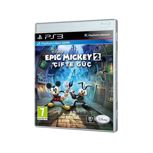 Tiglon Disney Epic Mickey 2 Ps3 Oyun