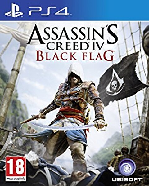 Aral Assassins Creed IV Black Flag Ps4 Oyun