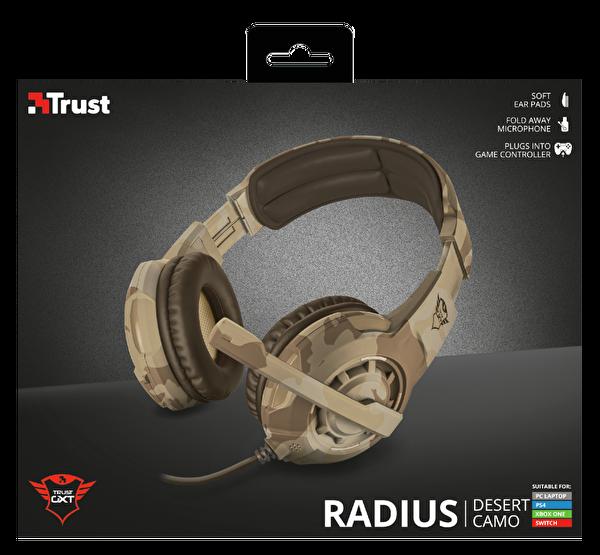 Trust 22208 GXT310D Radius Oyuncu Kulaklığı - Col Kamuflajı