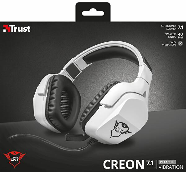 Trust 22054 GXT354 Creon 7.1 Bass Titreşimli USB Oyuncu Kulaklığı
