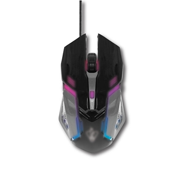 Preo My Game MG10 Kablolu Gaming Mouse Siyah Gri