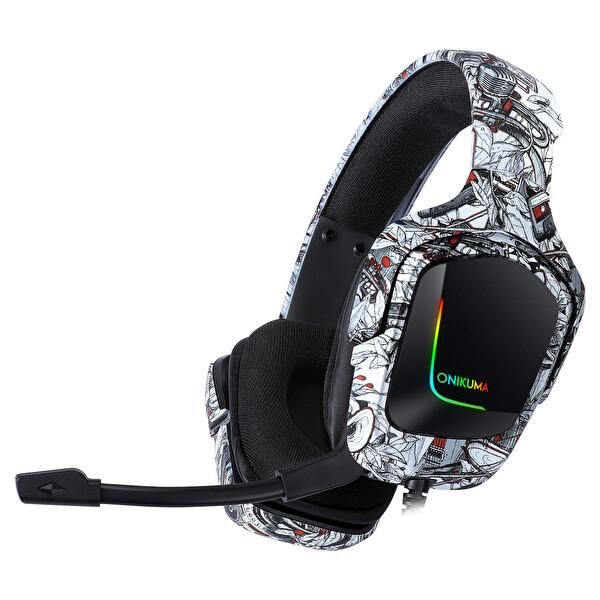 Onikuma K20 Haming Kulaklık Gri