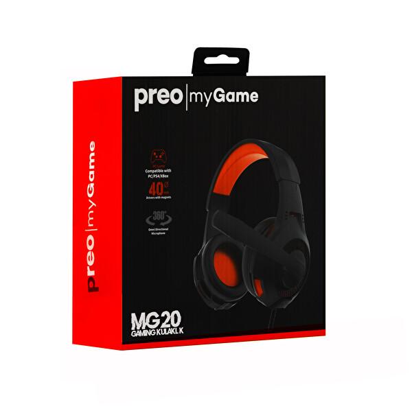 Preo My Game MG20 Mikrofonlu Gaming Kulaklık