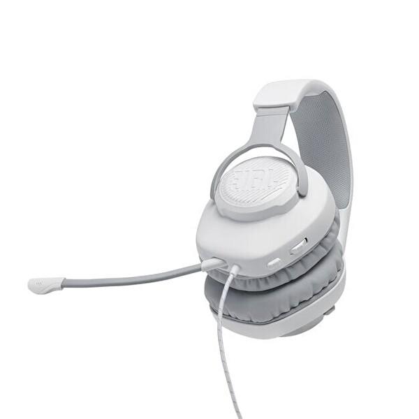 Jbl Quantum 100, Gaming Kulaklık Kablolu Beyaz
