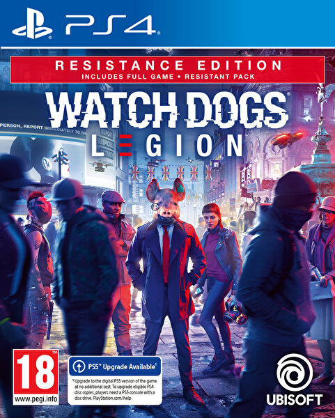 Aral Watch Dogs Legion Resistance Edition PS4 Oyun