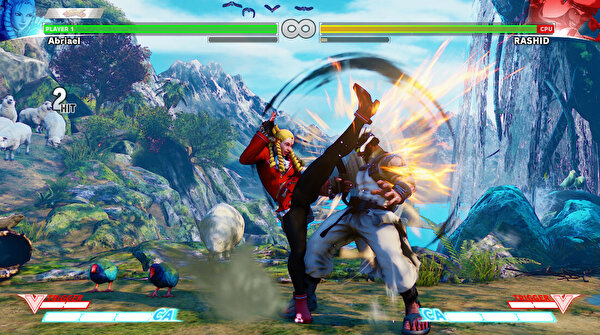 ARAL STREET FIGHTER V PS4 OYUN