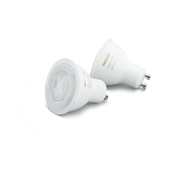 Philips Hue GU10 2 li Ekopaket Beyaz Ambiyans Akıllı Spot Ampul