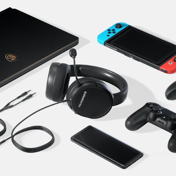 SteelSeries Arctis 1 Kablolu Oyuncu Kulaklığı - PS4, PC, Xbox, Nintendo Switch ve Mobil Uyumlu