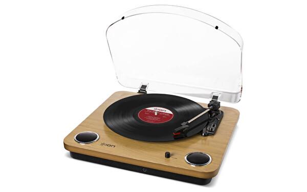 Ion Max LP All-in-One Stereo Hoparlör Dahili Pikap