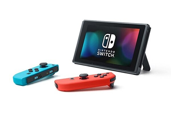 Nintendo Switch Konsol Kırmızı/Mavi