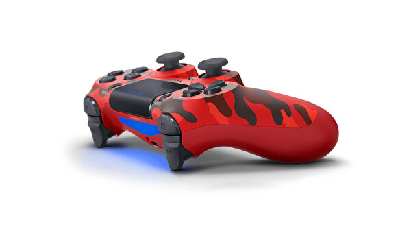 Sony PS4 Dualshock Red Camouflage