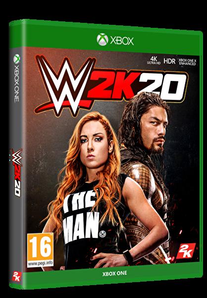 T2 WWE 2K20 Standart EDT Xbox One Oyun