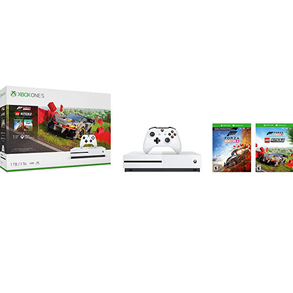 Xbox One S 1 TB Forza Horizon 4 & Lego Oyun Konsolu