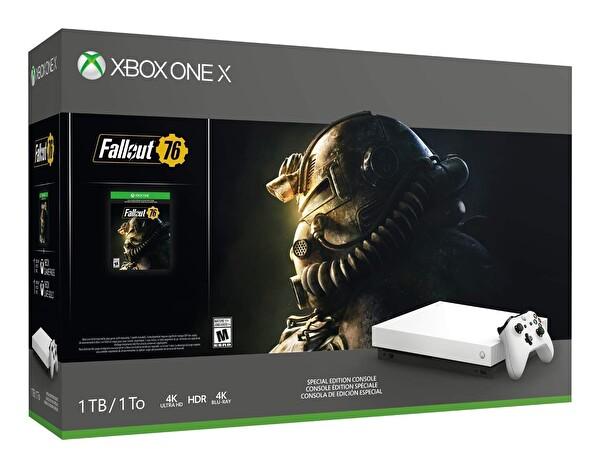 Xbox One X 1 TB Konsol Fallout Oyun Bundle