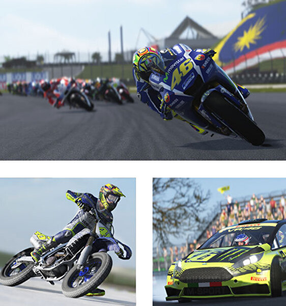 Aral Valentino Rossi: The Game PS4 Oyun