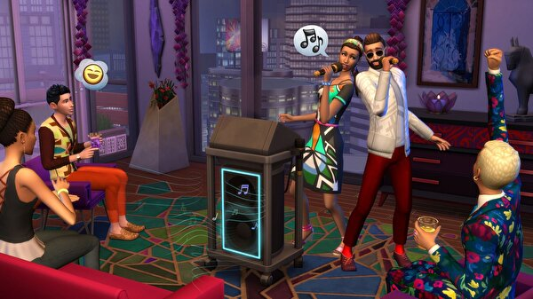 Aral The Sims 4 City Living Pc Oyun