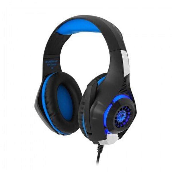 Frısby Gamemax FHP-G1460B Oyuncu Kulaklık - Mavi Işıklı
