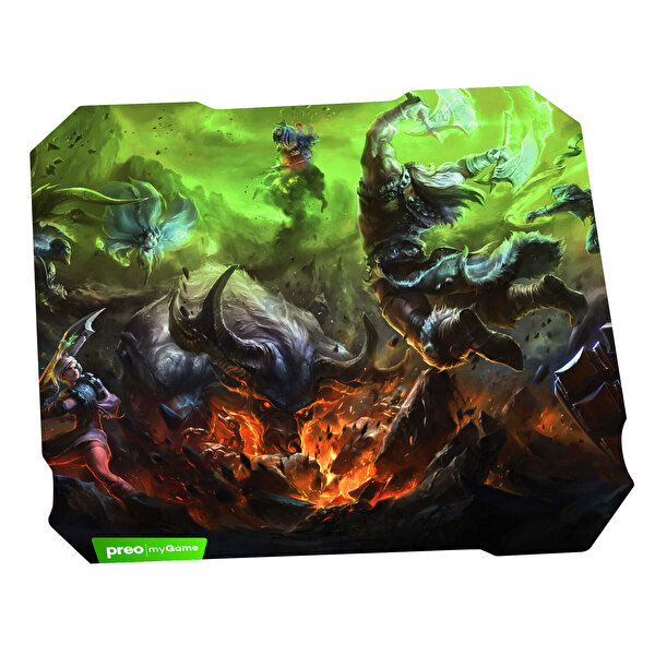 Preo My Mouse mmx07 Gaming Mouse+Pad (Yeşil)
