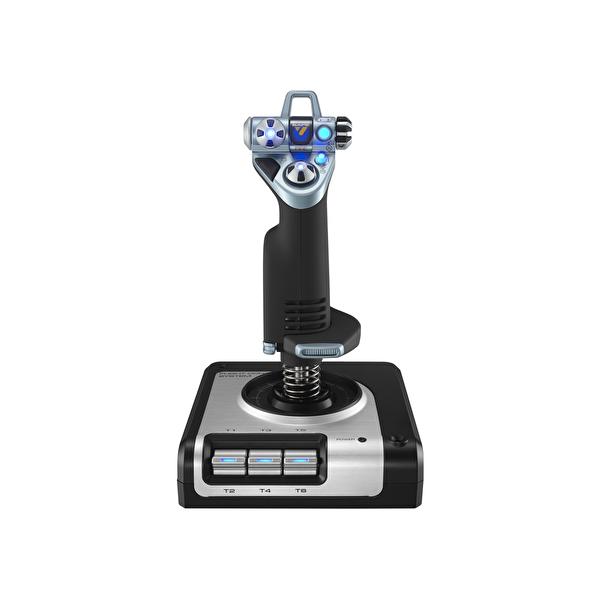 Logitech G Saitek X52 Flight Joystick ve LCD Kontrol Çubuğu 945-000006