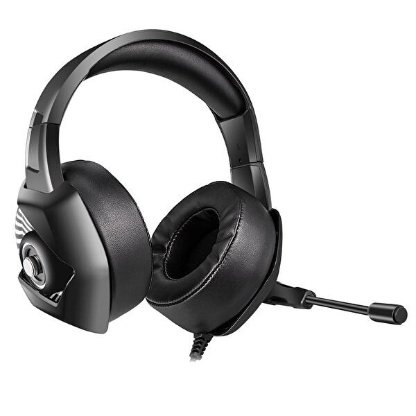 Onikuma K6 RGB Işık Heyecanlı Gaming Kulaklık Siyah