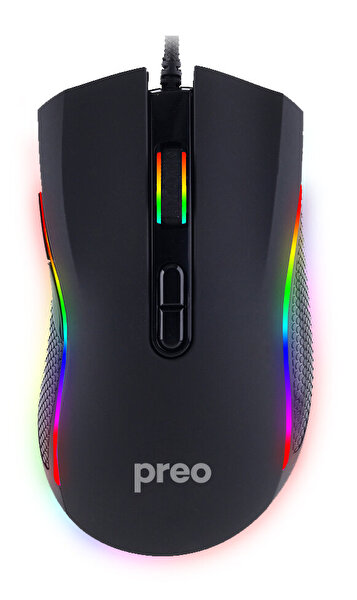Preo My Game  MG16 RGB Makro Gaming Mouse