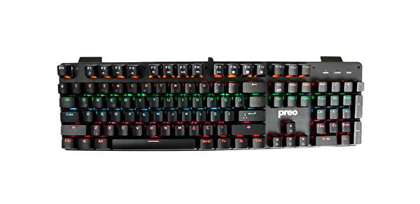 Preo My Game MG50 Clicky Blue Switch Rgb Aydınlatmalı Mekanik Gaming Klavye