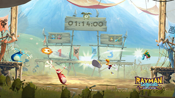 Nintendo Rayman Legends Definitive Edition Switch Oyun