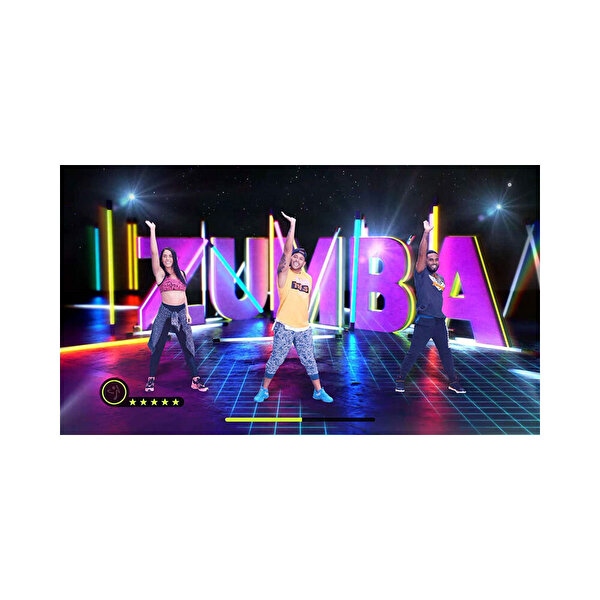 Nintendo Zumba Burn It Up Switch Oyun