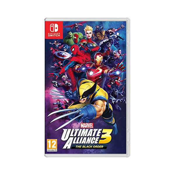 Marvel Ultimate Alliance 3 : The Black Order Switch Oyun