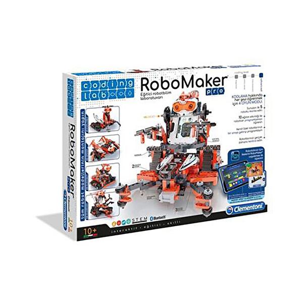 Clementoni Coding Lab Robomaker Pro Eğitici Robotbilim Laboratuvarı
