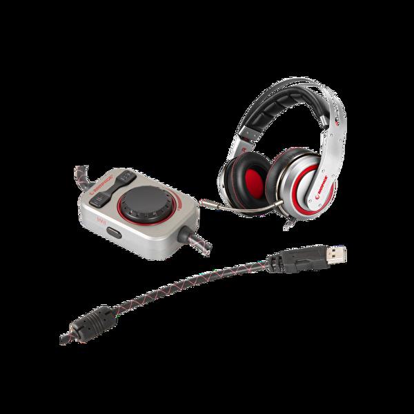 Rampage Sn-Rw5 Hydra 7.1 Surround Sound System Titreşimli Mikrofonlu Gaming Kulaklık Gümüş